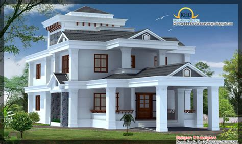 beautiful house floor plans home design beautiful house elevations kerala home design