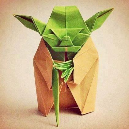 Origami Difficult - origami yoda difficult to fold it must be starwars