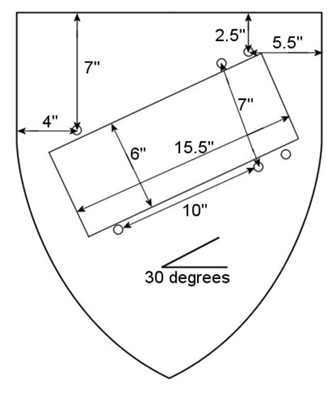 wooden shield plans  woodworking