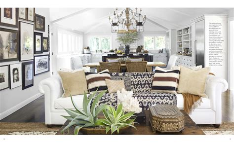 Open Concept Home Decorating Ideas by A Globally Inspired California Home As Seen In House
