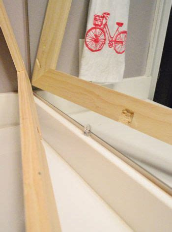 how to frame a bathroom mirror with clips how to build a wood frame around a bathroom mirror mirror to the wall and frames