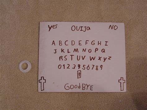 How To Make A Wigi Board Out Of Paper - ouija board espa 241 ol