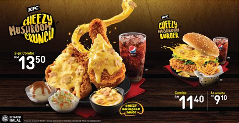 kentucky fried pensions 2018 books kfc cheezy crunch new menu promotion 2017