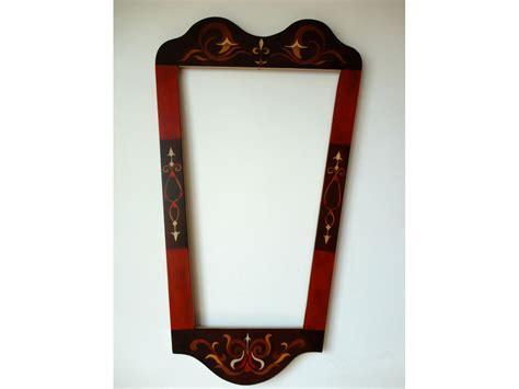 unusual mirrors unique hand painted mirror frame eggcentrik