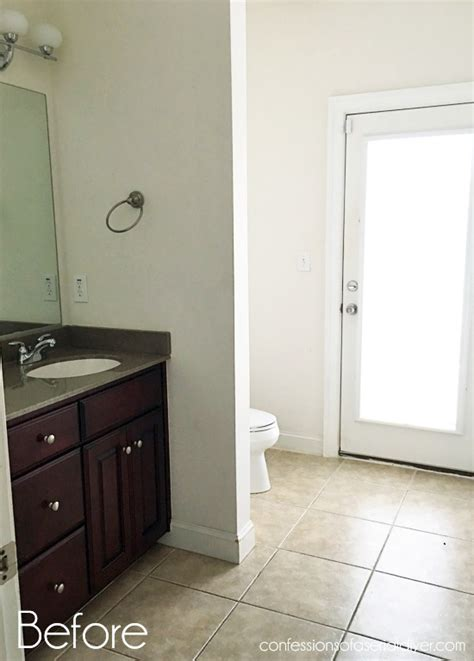 Install Wainscoting Bathroom by How To Install Wainscoting Confessions Of A Serial Do It