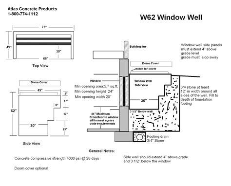 irc section 62 egress window well stunning egress window well flooding