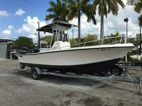 mako boats used 1995 used mako 232 center console fishing boat for sale