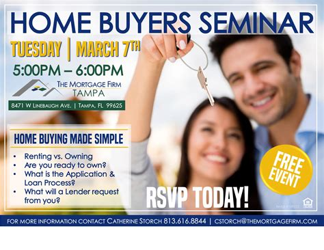 home buyer seminar tickets tue mar 7 2017 at 5 00 pm
