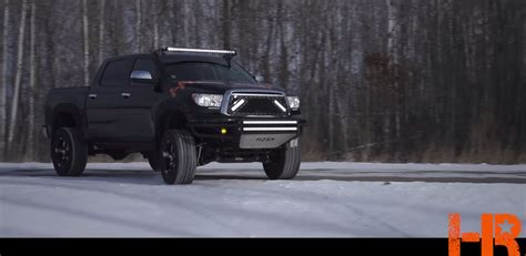 tundra led light bar how to install a royalty core light bar truck grille