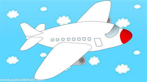 imagenes infantiles avion avi 243 n para ni 241 os transporte para ni 241 os medios de