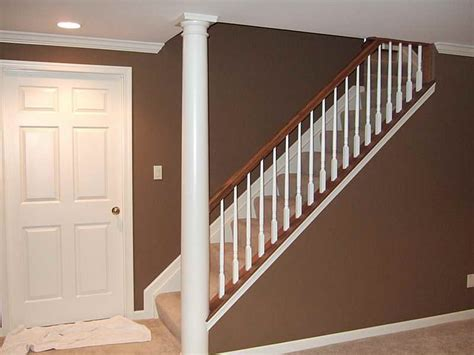 Banister Remodel by Interior Stair Railing Basement Remodeling Ideas Stair