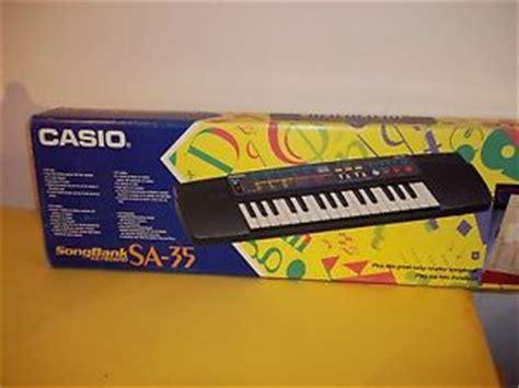 Keyboard Casio Sa 35 pianola casio song bank keyboard sa 35 ebay