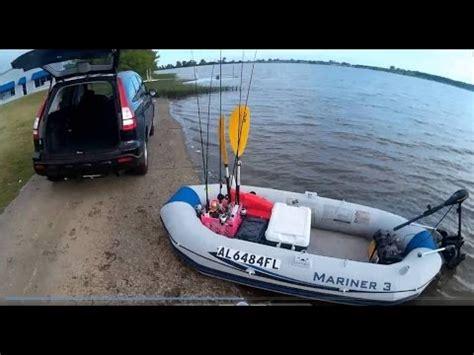 inflatable fishing boat setup intex mariner 3 inflatable boat setup process