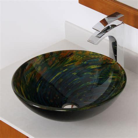 elite whirlpool mossy lake painted bowl vessel