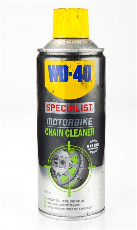Product Review: WD40 Chain Cleaner   MCN