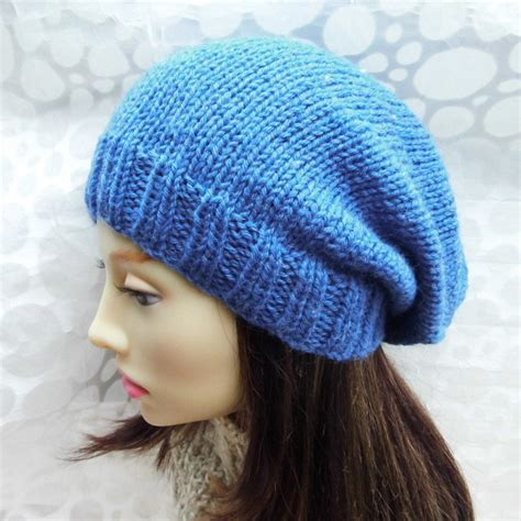 slouchy beanie knitting pattern for beginners knitting pattern womans slouchy beanie pattern easy
