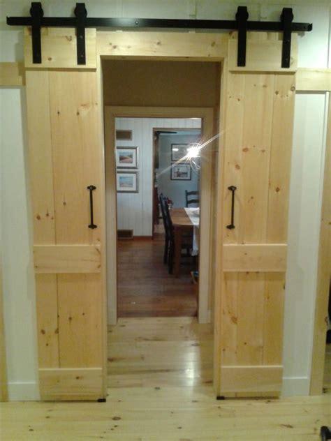Split Barn Door Barn Door Style Interior Sliding Doors By Gregfinleywoodworks Remodel Barn Doors
