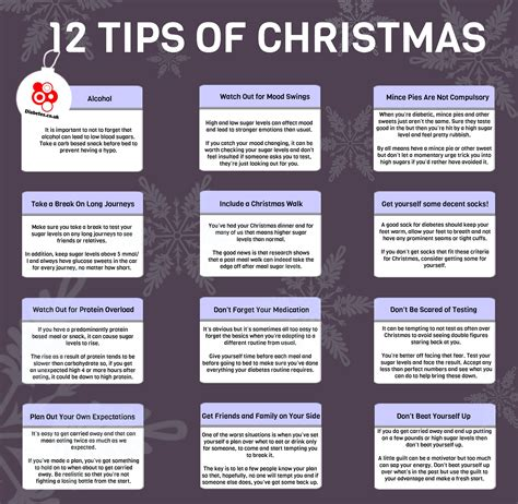 12 tips of christmas infographic