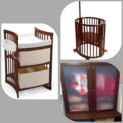 for sale stokke 0 6yrs cot changing table and wardrobe