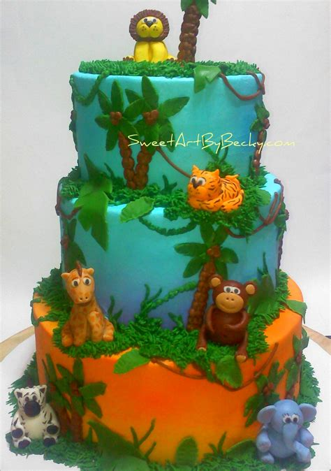 Safari Cakes Baby Shower by Chattanooga Cleveland Dayton Wedding Birthday Cakes