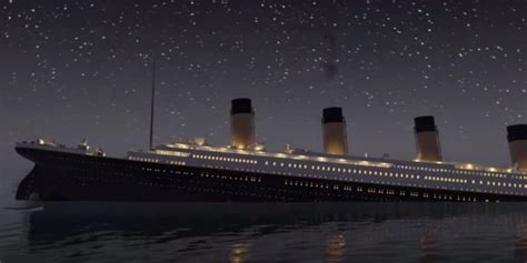 real pictures of the titanic sinking watch titanic in real time in eerie animated