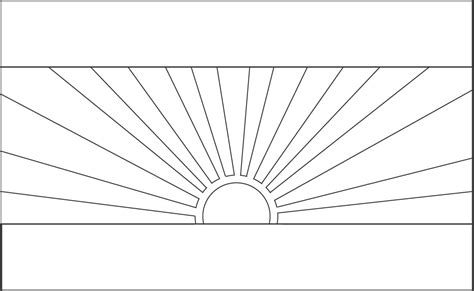 flag of lebanon free coloring pages
