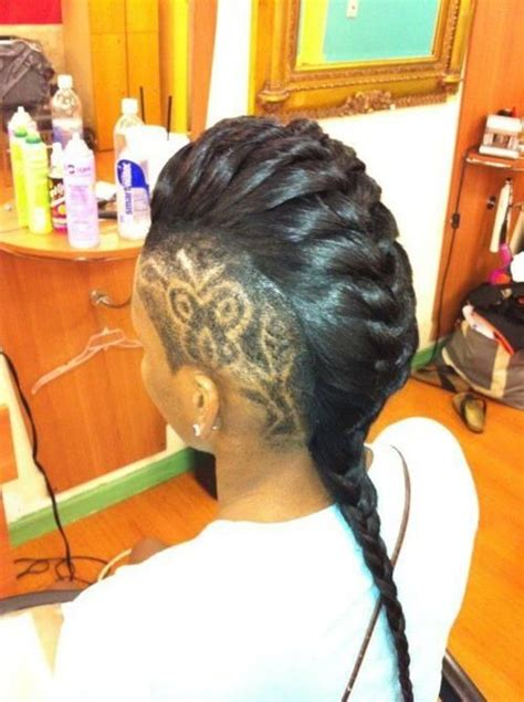 braids with bolding center mohawk braids 12 braided mohawk hairstyles that get attention