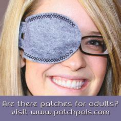 comfortable eye patches adults 1000 images about patch pals information on pinterest