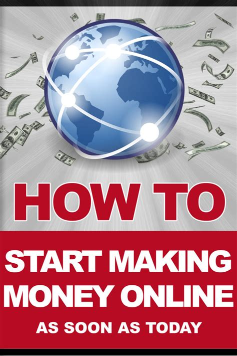 How To Start Making Money Online - how to start making money online today