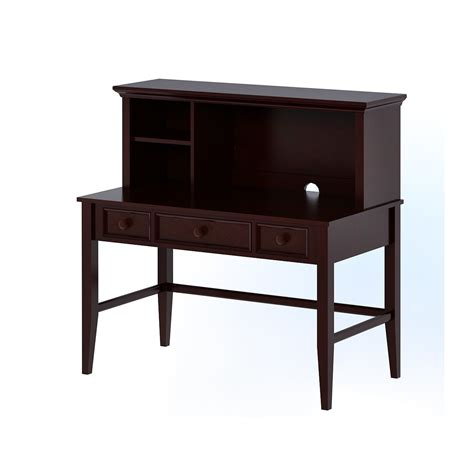 Mini Desk by Craft Furniture 18 Quot X 51 Quot Mini Desk Hutch Reviews
