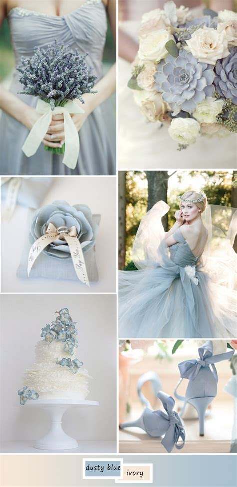 april wedding colors 2017 top 5 perfect shades of blue wedding color ideas for 2017