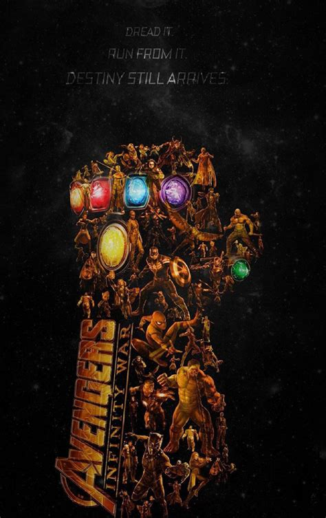 avengers infinity war latest poster full hd wallpaper