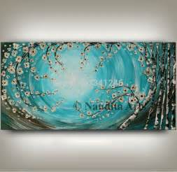 Turquoise Wall Decor by 100 Painted Modern Home Decor Wall Picture