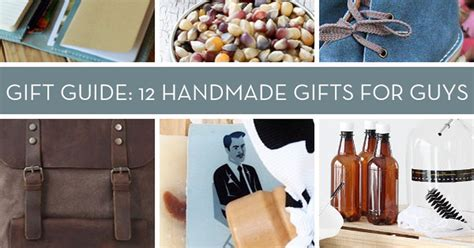 Great Handmade Gifts - gift guide 12 great handmade gifts for curbly