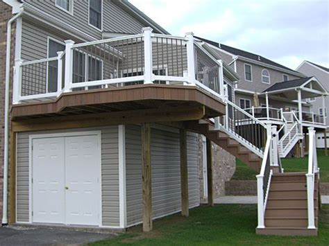 Shed On Decking by Inspiring Shed Deck 4 Shed Deck Basement