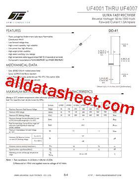 transistor uf uf4007 datenblatt pdf jinan jing heng electronics co ltd