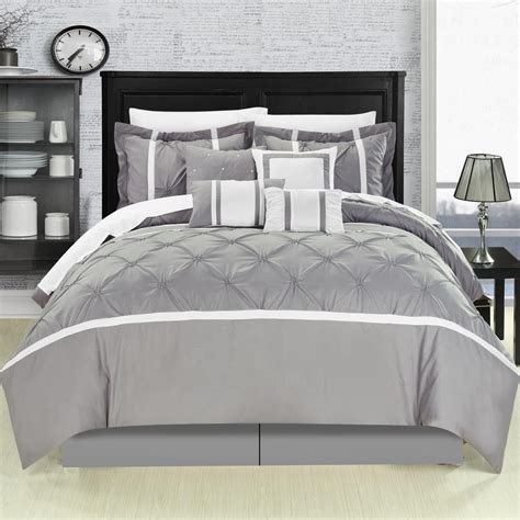 grey and white comforter set queen yellow gray turquoise and black bedroom planning