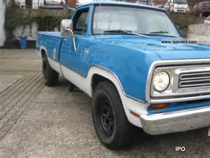 1972 Dodge Truck 1972 Dodge D200 Cer Ram H Admission Lpg