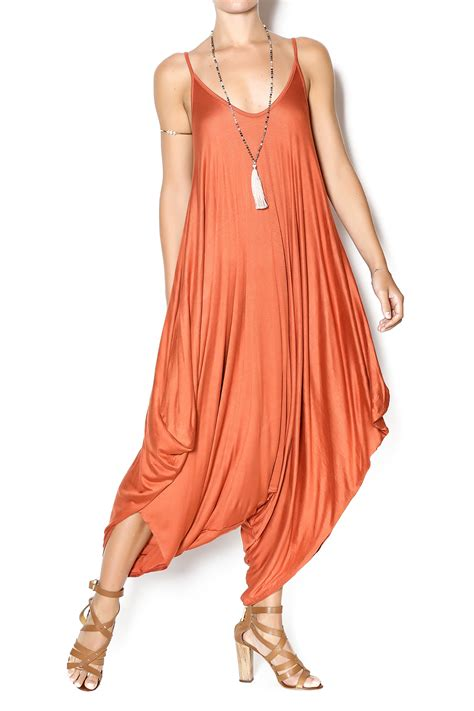 Jump Genie Jumpsuit twist genie string jumpsuit from new jersey by