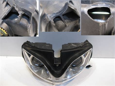 Motorrad Scheinwerfer Ausbauen by Scheinwerfer Le Leuchte Licht Suzuki Gsf 1200 S Bandit
