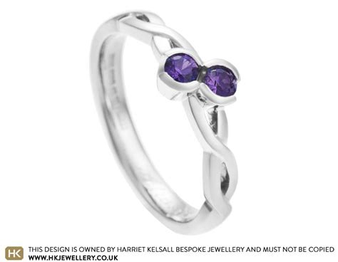 natalie s purple sapphire moi et toi style engagement ring