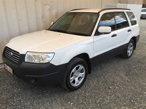 white subaru forester 2006 subaru forester 2006 white 3 used vehicle sales