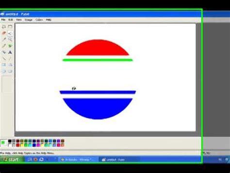tutorial logo sctv video tutorial pembelajaran tik paint cara membuat logo