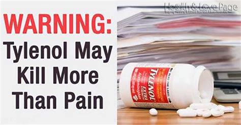 Cns Response Warning Letter Warning Tylenol May Kill More Than