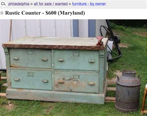 antique kitchen islands for sale craigslist repurposed kitchen island possibilities