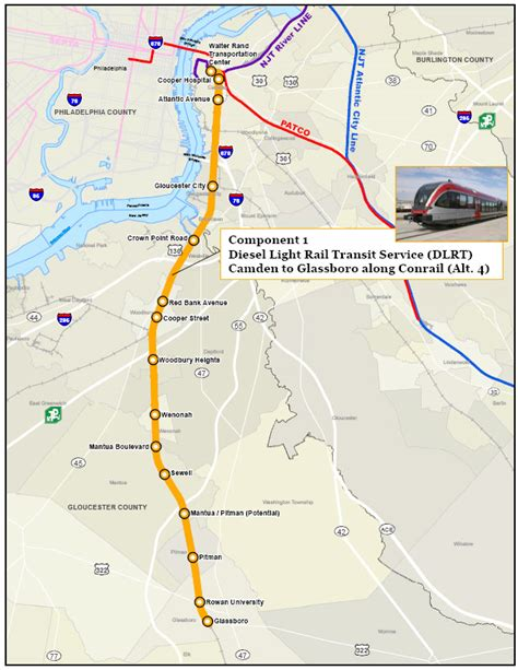 patco map from the south jersey desk real money committed to patco extension new jersey future