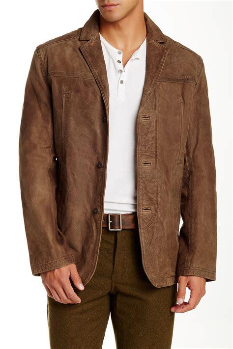 leather sport coat timberland bayview nubuck leather sport coat nordstrom rack