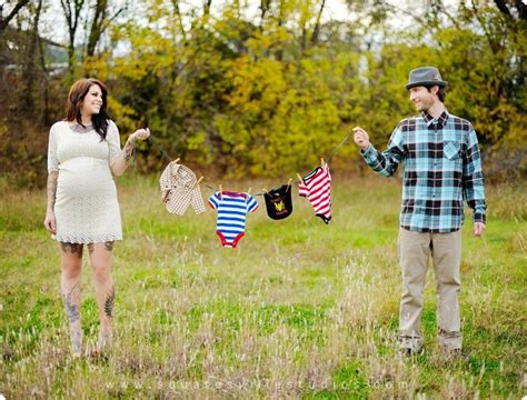 Couples Clothing Line Clothes Line Maternity Shoot Idea Photo Shoot Ideas