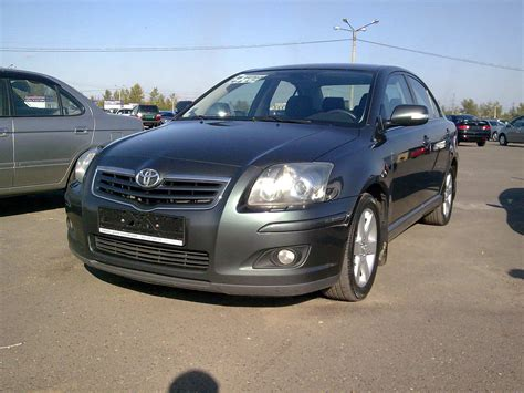 Toyota Avensis 2006 Manual 2006 Toyota Avensis Pics 1 8 Gasoline Ff Manual For Sale