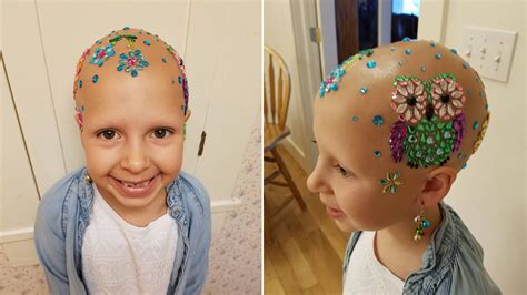 hair for 7 years old 7 year old who lost her hair due to alopecia wins crazy